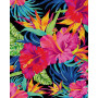 Exotic flower dreams - Schipper 40 x 50 cm