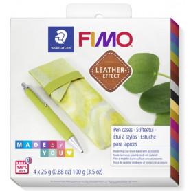 Fimo Leather DIY Stifteetui