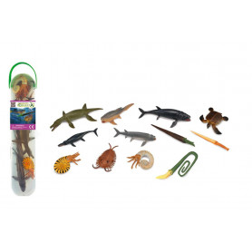 CollectA  A1104 Box of Mini Prehistoric Marine Animals