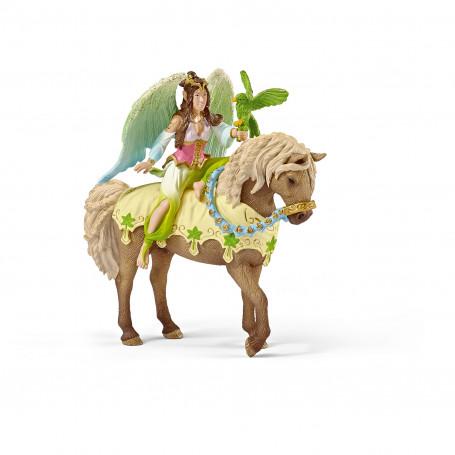 Schleich 70504 Surah in feestkleding, te paard