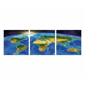 Unser Planet - Schipper Triptychon 40 x 120 cm