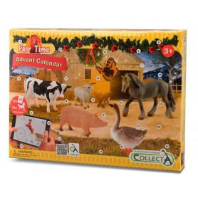 Collecta 84178 Adventskalender Boerderij Dieren / Paarden
