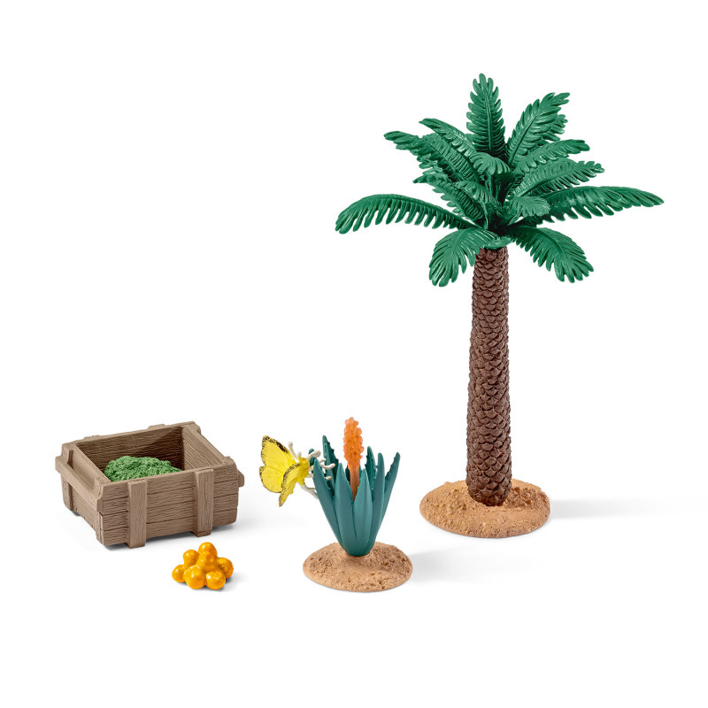 Schleich 42277 Plants and feed set