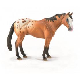 Collecta 88933 Light Brown Appaloosa Stallion
