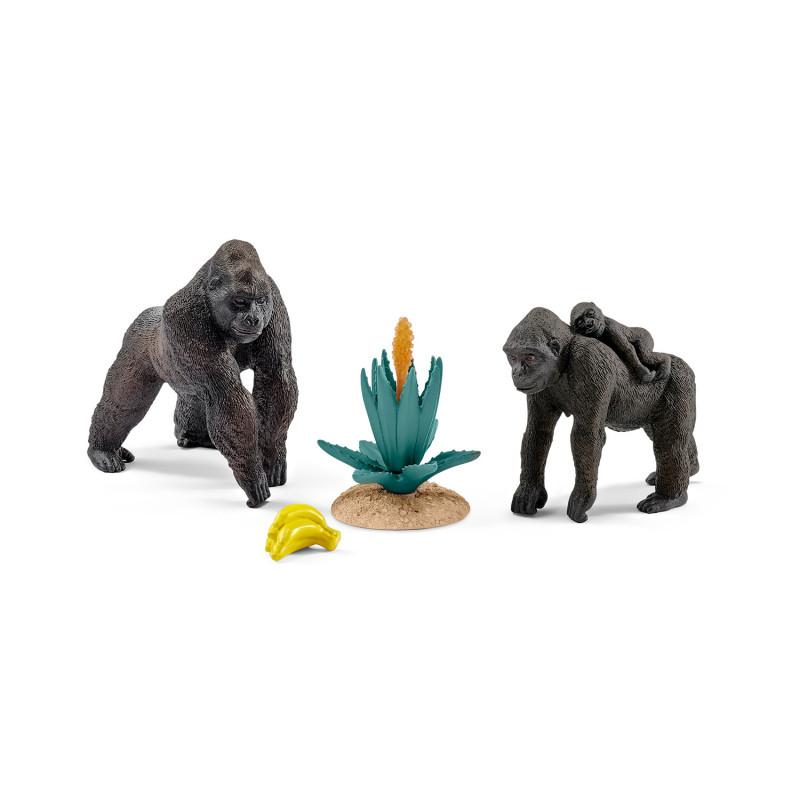 Schleich 42276 Gorilla familie