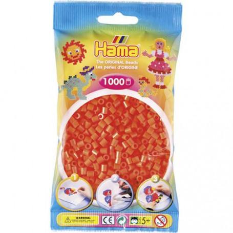 Hama strijkkralen 04 Oranje