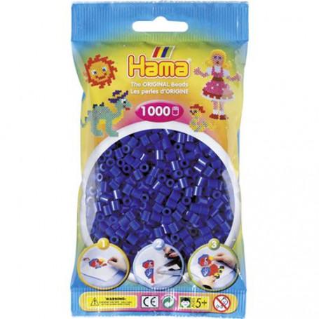 Hama strijkkralen 08 Donkerblauw