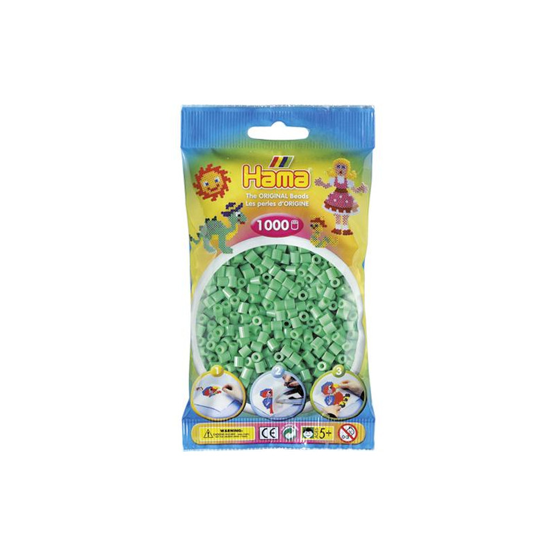 Hama strijkkralen 11 Mint
