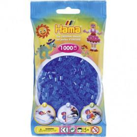 Hama strijkkralen 15 Blauw Doorzichtig