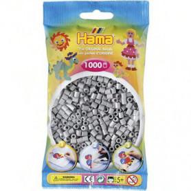 Hama strijkkralen 17 Grijs