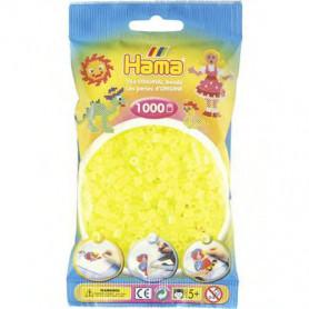 Hama strijkkralen 34 Geel Neon