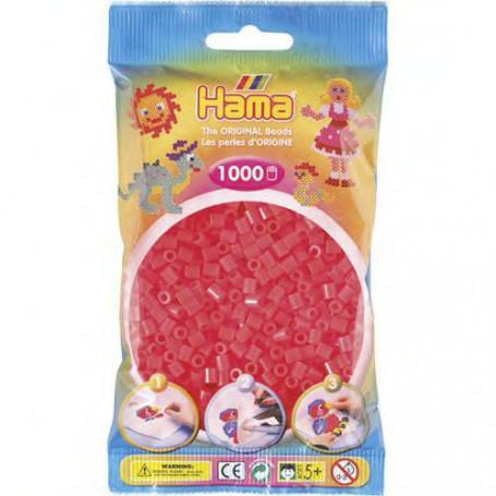 Hama strijkkralen 35 Rood Neon