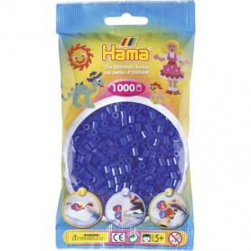 Hama strijkkralen 36 Blauw Neon