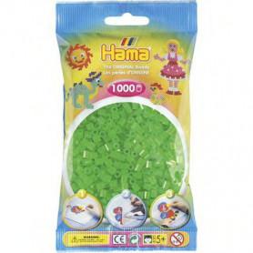 Hama strijkkralen 37 Groen Neon