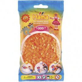 Hama strijkkralen 38 Oranje Neon