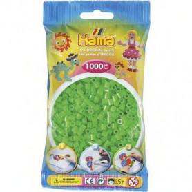 Hama strijkkralen 42 Groen Neon