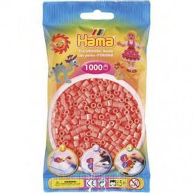 Hama strijkkralen 44 Rood Pastel