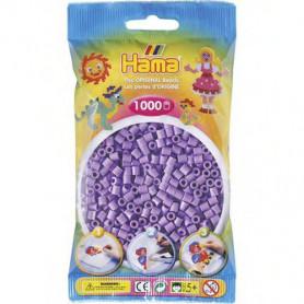 Hama strijkkralen 45 Paars Pastel