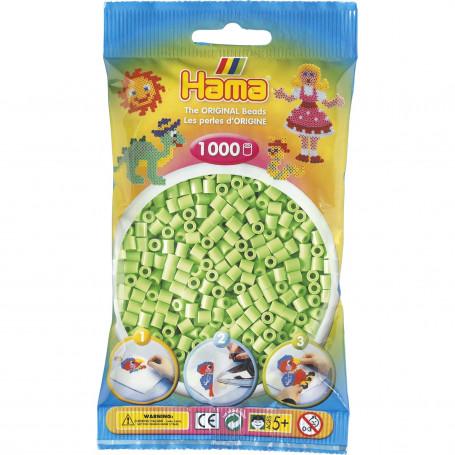 Hama strijkkralen 47 Groen Pastel