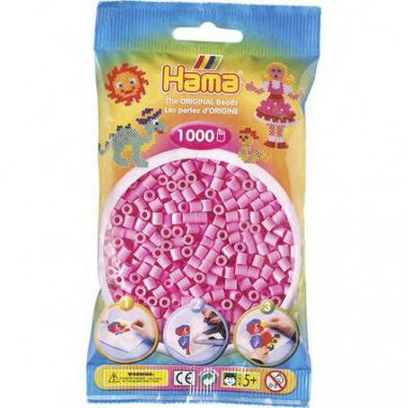 Hama strijkkralen 48 Roze