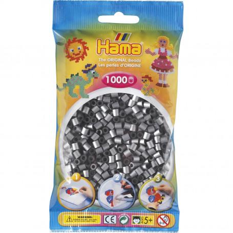 Hama strijkkralen 62 Zilver