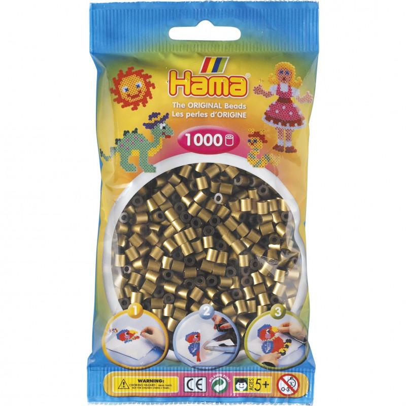 Hama strijkkralen 63 Brons