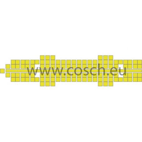 Stickit kleur 08 geel, 5 stuks