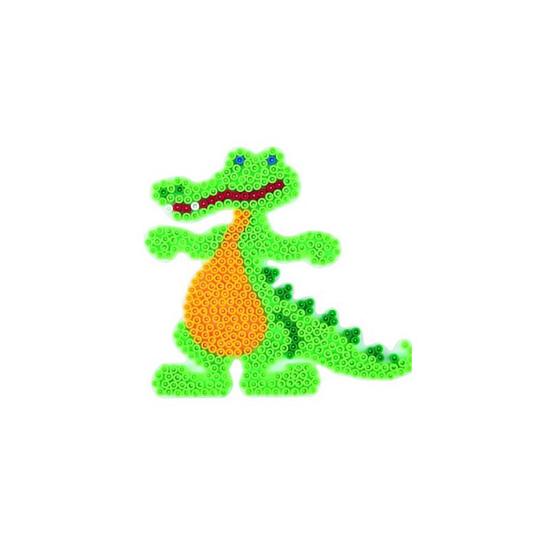 Grondplaat Hama krokodil
