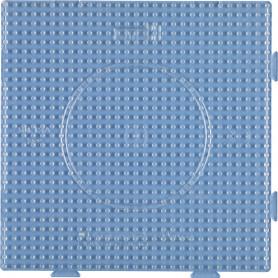 Grondplaat Hama insteek vierkant transparant
