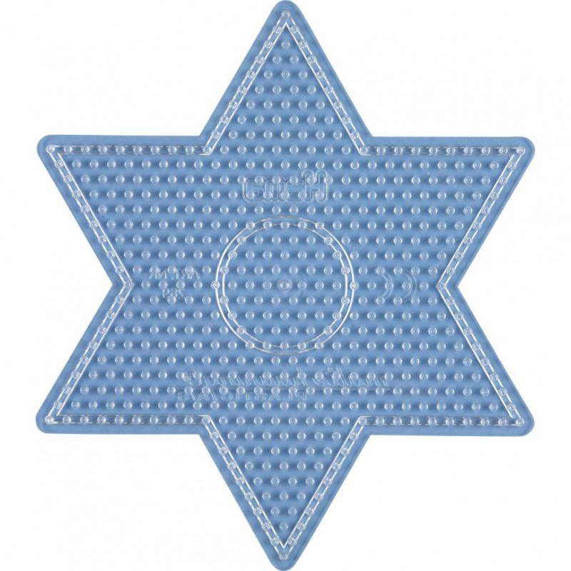 Grondplaat Hama ster gr.