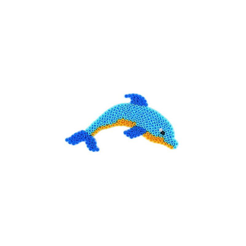 Grondplaat Hama dolfijn