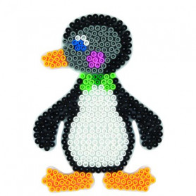 Grondplaat Hama pinguin