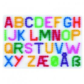 Grondplaat Hama letters