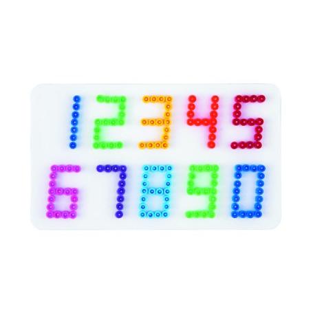 Grondplaat Hama cijfers