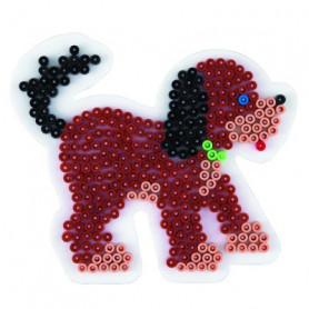 Grondplaat Hama hond