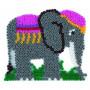 Grondplaat Hama  olifant