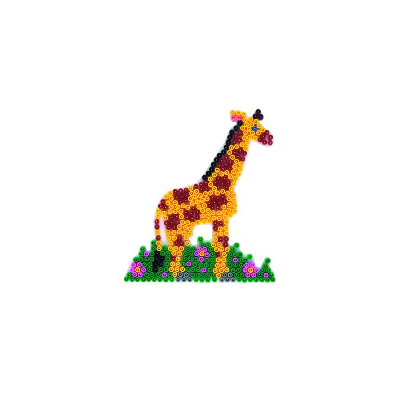 Grondplaat Hama giraffe