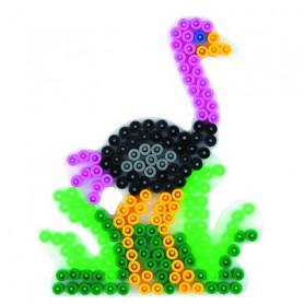 Grondplaat Hama  struisvogel