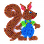 Grondplaat Hama  eekhoorn