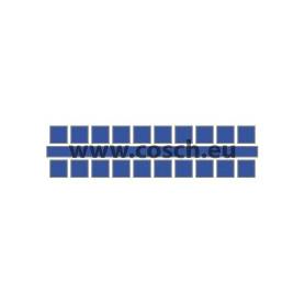 Kleur 02 donkerblauw, 1st. puntjes