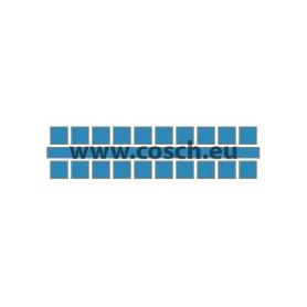 Ministeck kleur 03 lichtblauw, 1st. puntjes