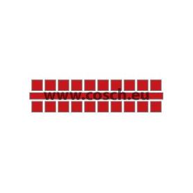 Ministeck kleur 06 rood, 1st. puntjes
