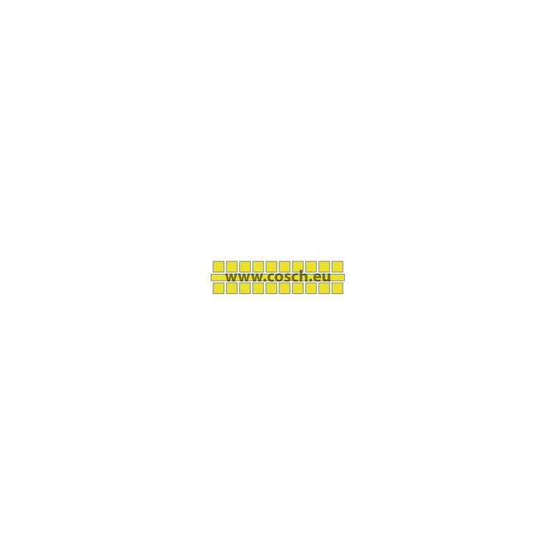 Ministeck kleur 08 geel, 1st. puntjes