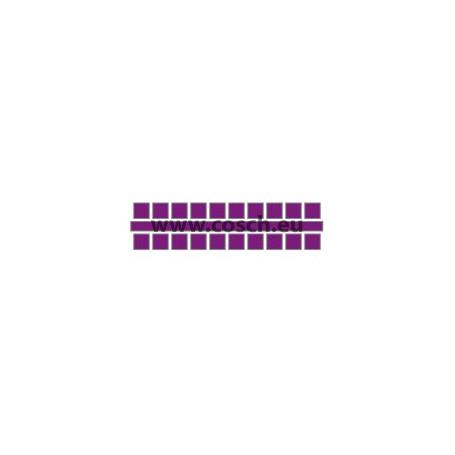 Kleur 20 violet, 1st. puntjes