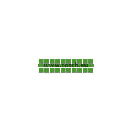 Ministeck kleur 21 midden groen, 1st. puntjes