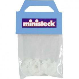 Ministeck ophangplaatjes, 10 stuks in een zakje.