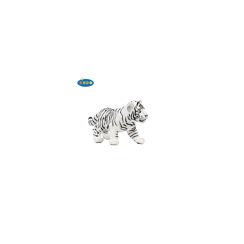Papo 50048 Bébé tigre blanc