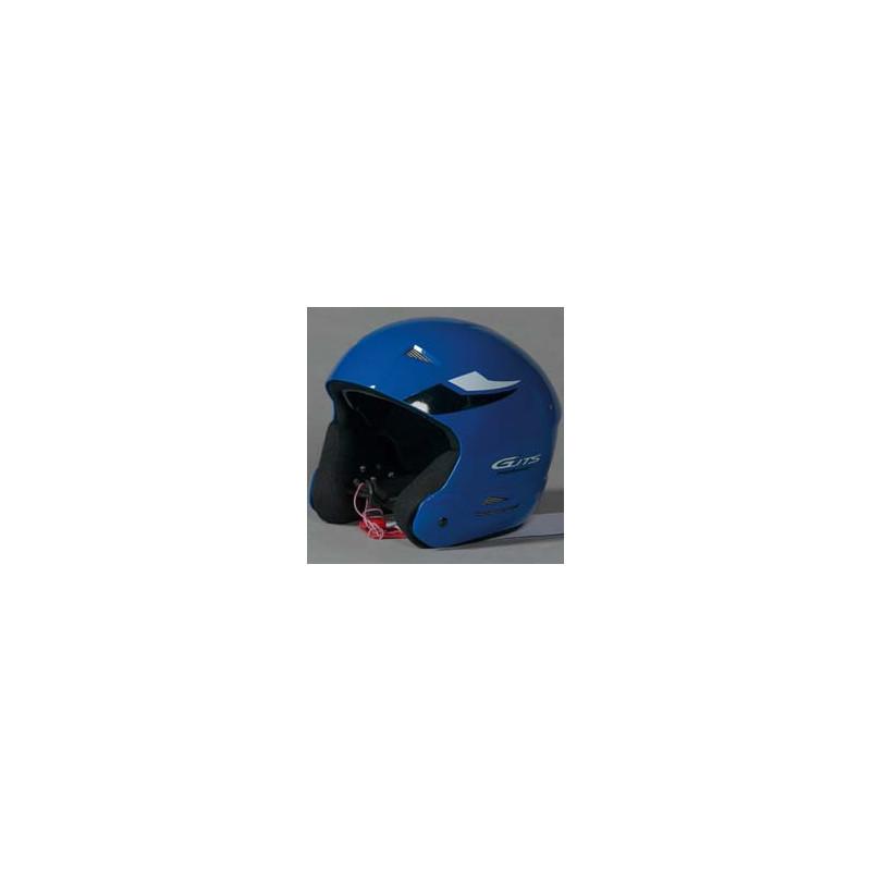 Skihelm blauw M