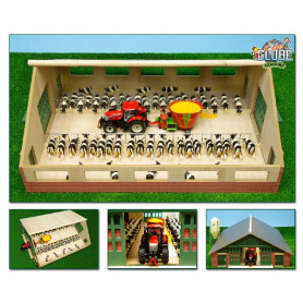 Kids Globe - 610540 Houten loopstal 1:32 Siku