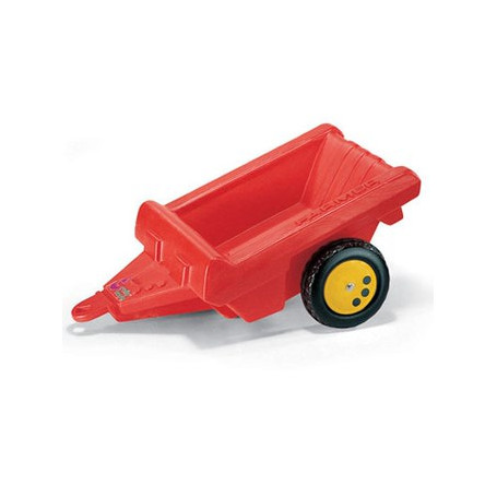 Rolly Toys aanhanger rood